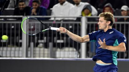 David Goffin strandt in halve finales Diriyah Tennis Cup