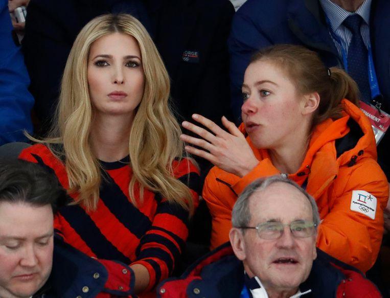 Hoe wonderlijke ontmoeting tussen olympisch kampioen Esmee Visser en Ivanka Trump tot stand kwam