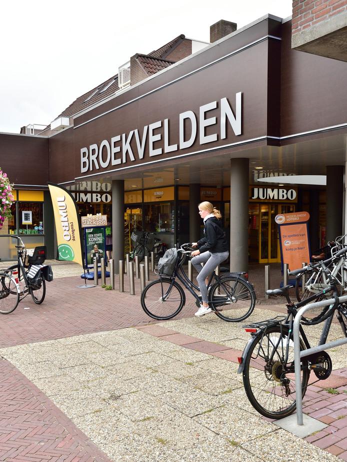 Winkelcentrum Broekvelden aan de Vromade heeft dringend een opknapbeurt nodig.