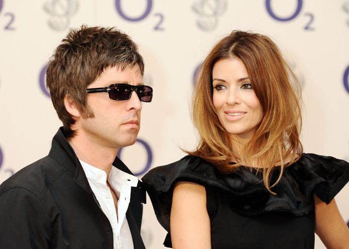 Noel Gallagher et Sara MacDonald