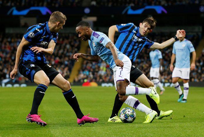 Atalanta Bergamo ging in Manchester met 1-5 onderuit.