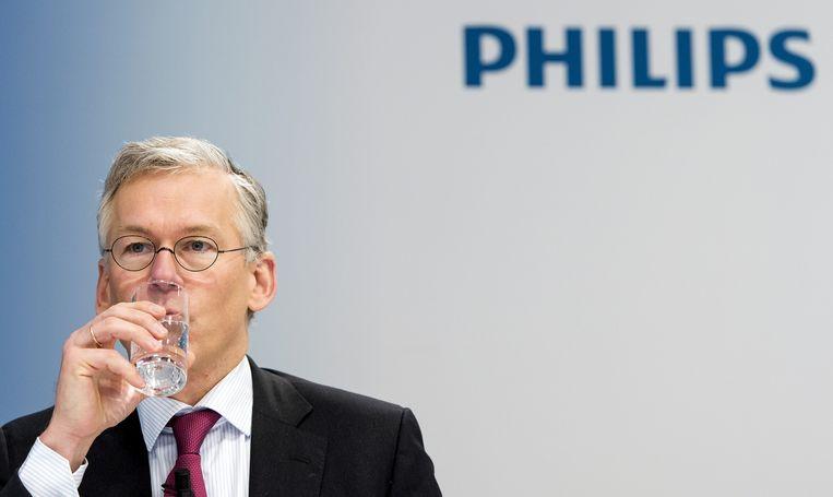 Frans van Houten, bestuursvoorzitter Philips. Beeld null