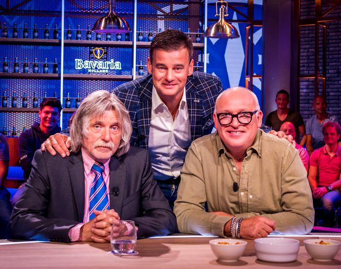 Johan Derksen, Wilfred Genee en Rene van der Gijp