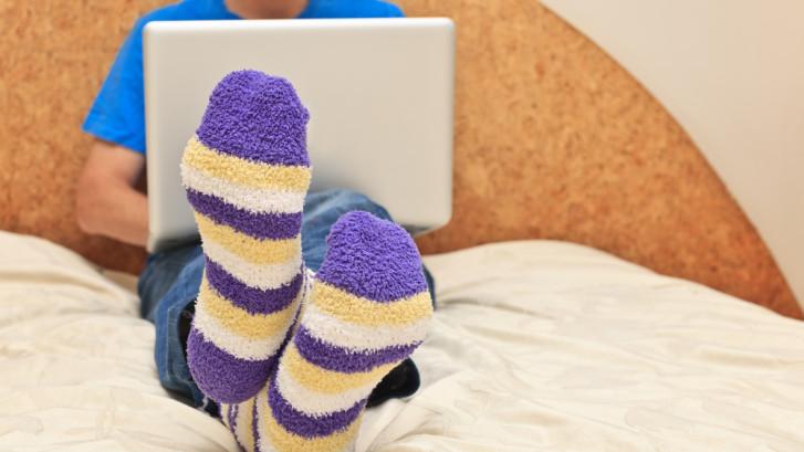 Kun je zelf bepalen of je thuiswerkt, en wanneer je dat doet?