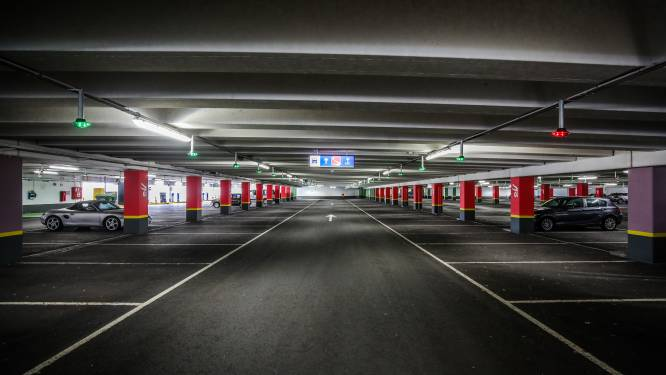 'Slechts' één miljoen bestuurders parkeerde in 2020 ondergronds in Brugge