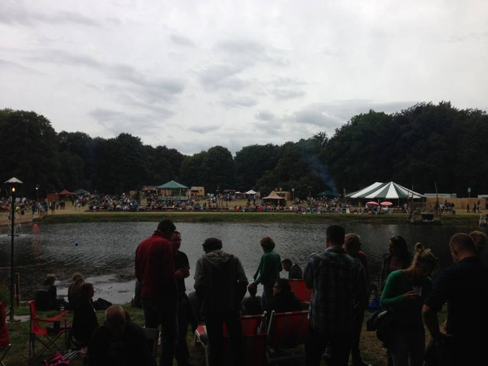 Het festival in Hummelo. foto DG