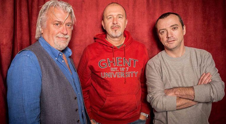 Miguel Wiels, Peter Gillis en Alain Vande Putte