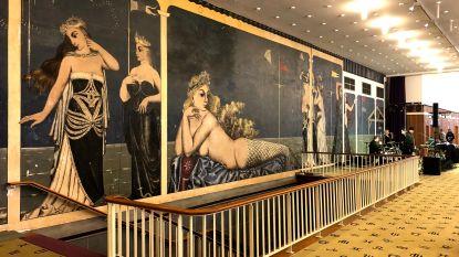 Kursaal Oostende wordt enkele dagen een museum. Ontdek op eigen tempo de architectuur en kunst in het gebouw