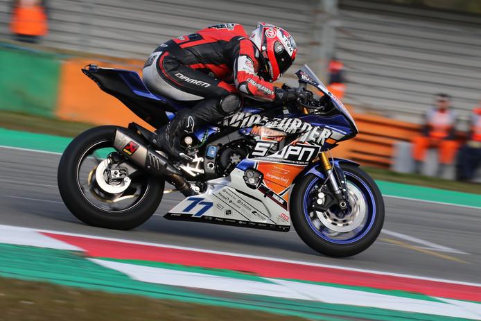 Motorcoureur Wayne Tessels uit Lopik.