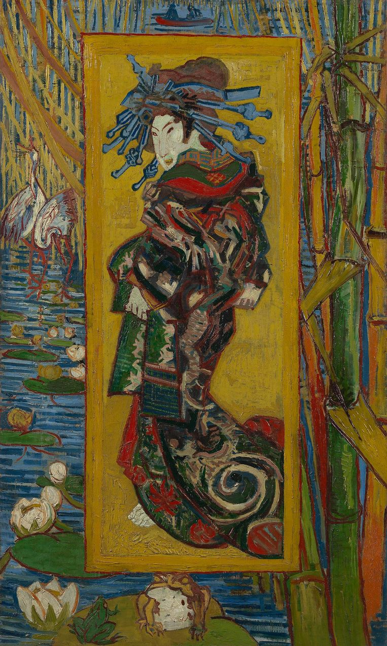 'Courtesan' Beeld Vincent van Gogh