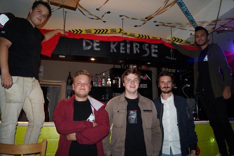 Damon Serlet, Maxim Bostyn, Jarno Pollet, Jano Denys en Ian Haeghebaert starten JH De Keirse.