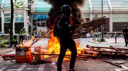 Opnieuw straatgeweld in Hongkong