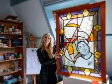 "Glazenier Elise Wijnen (25) giet Ol' Dirty Bastard en Biggie Smalls in glas-in-lood: ,,Moderne legendes"""