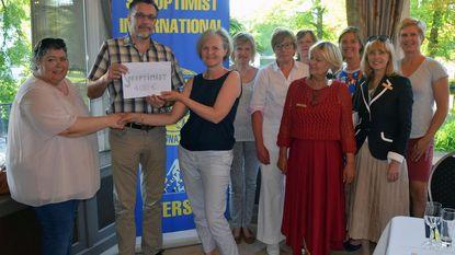Soroptimist Club steunt Zonnestraal vzw