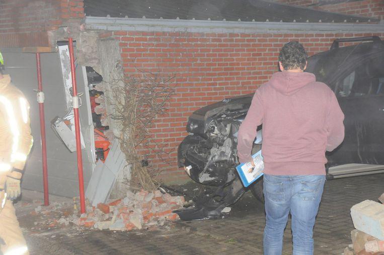 Zware schade na ongeval Ganzendries