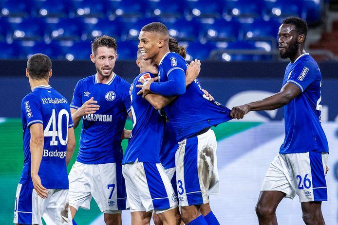 Via Malick Thiaw kwam Schalke 04 nog wel op voorsprong.
