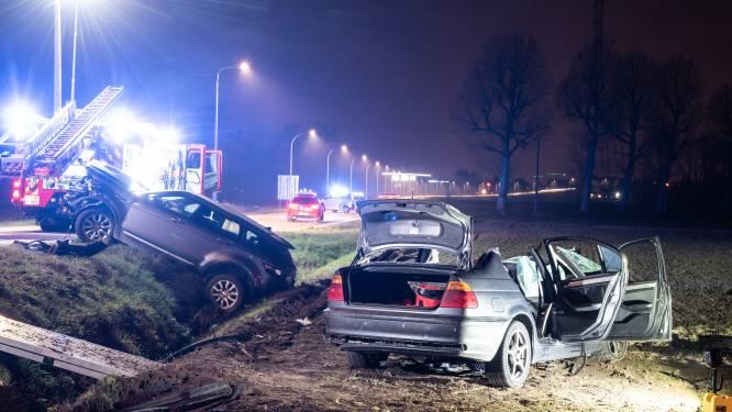 Twee gewonden bij zwaar ongeval in Kruisem: Waregemsesteenweg afgesloten
