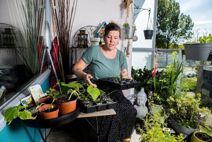 Renee Bredewold (39) uit Haarlem.