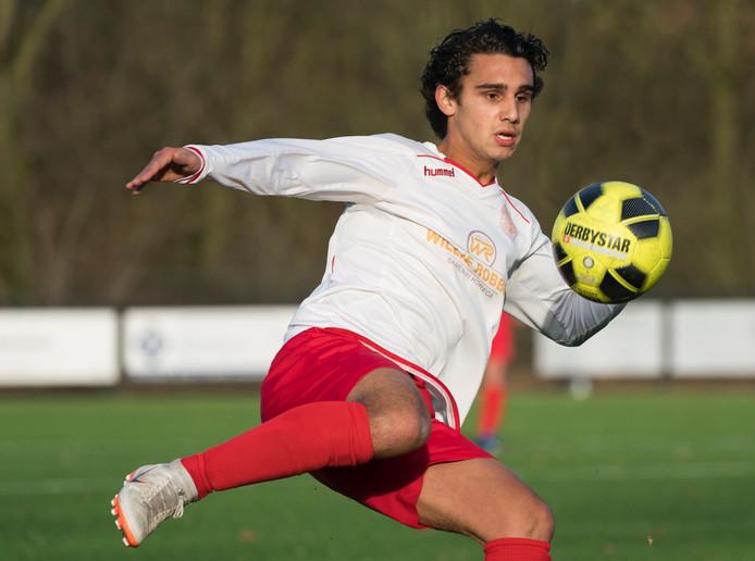 Zwaluw VFC - BVV. Tommy Kreté van Zwaluw VFC scoorde tweemaal tegen BVV.