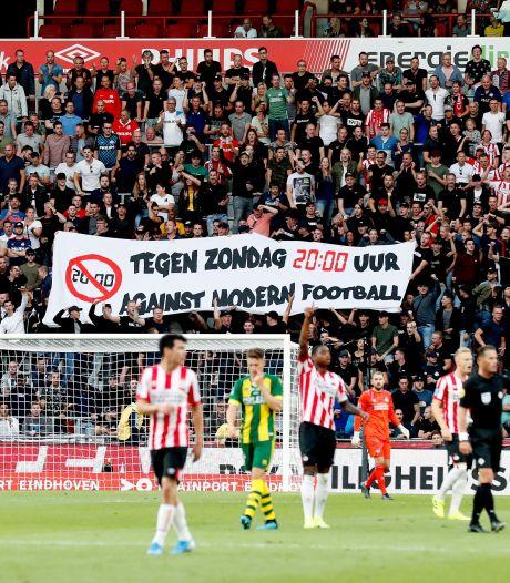 Supporters PSV uit protest eerste 20 minuten stil