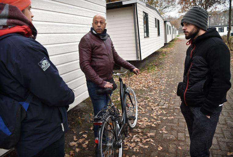 Op camping Droomgaard zitten veel arbeidsmigranten. Beeld Marcel van den Bergh
