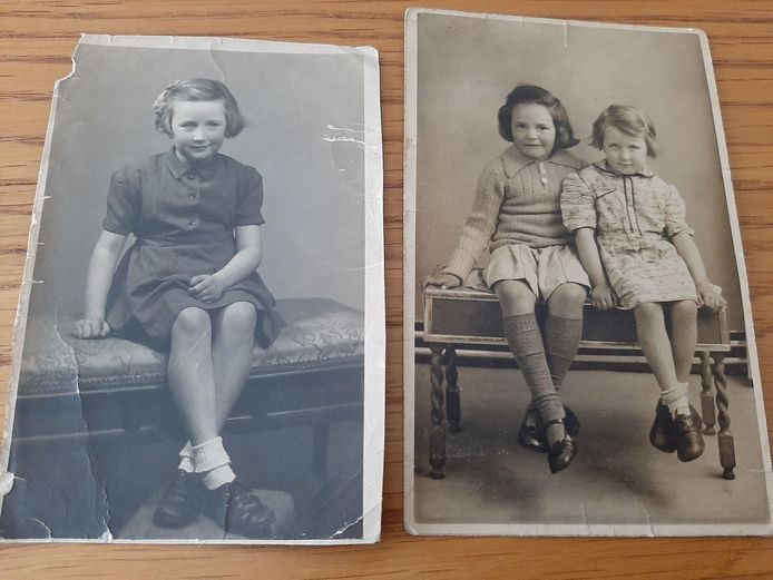 Wie zijn deze drie Kaatsheuvelse meisjes, gefotografeerd in 1944?