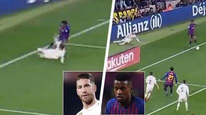 Na de Clásico: Semedo stuurt op grandioze wijze Sergio Ramos zwaar het bos in, Marcelo ergert Real