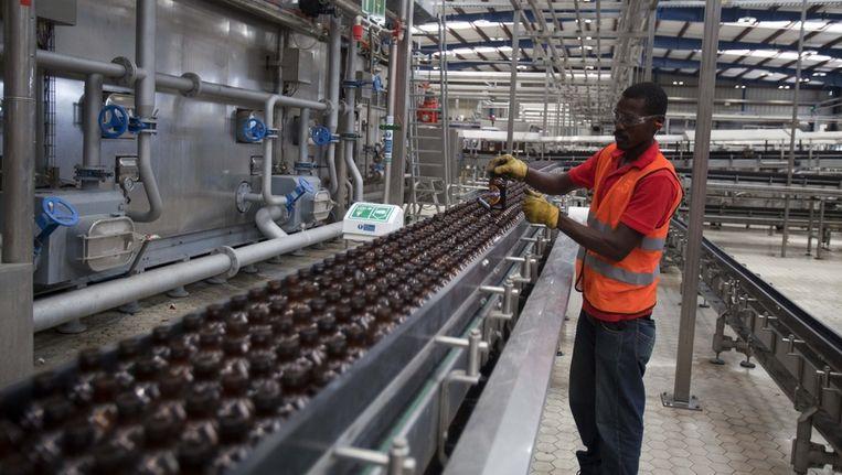 De Heineken bierbrouwerij op Haïti. Beeld ap