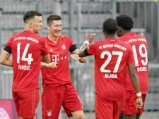 Le Bayern Munich écrase Francfort et conserve son avance