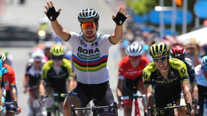 VIDEO: Sagan slaat in bloedhete temperaturen dubbelslag in Tour Down Under
