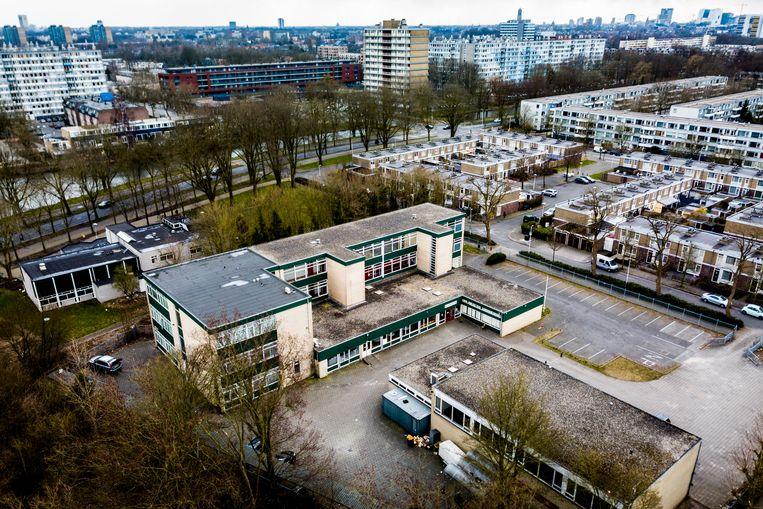 De moskee van de omstreden salafistische organisatie alFitrah in Utrecht Overvecht. Beeld Novum RegioFoto