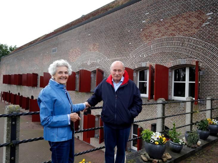 Dick en Ineke Fornier wonen in fort Steurgat in Werkendam: 'Allemachtig wat een gebouw'