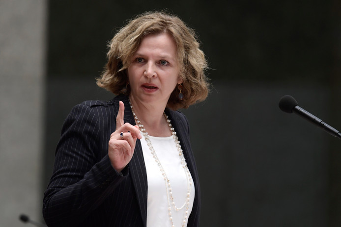 Demissionair minister Edith Schippers.