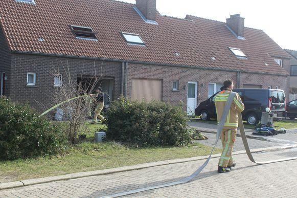 Brandweerposten Diest en Herk-de-Stad snelden woensdagochtend ter plaatse