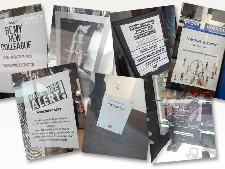 Winkels in Alphen hebben tekort aan weekendkrachten