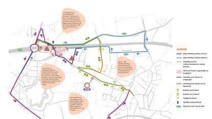Rondpunt Wommelgem vanaf 6 augustus volledig afgesloten voor alle verkeer