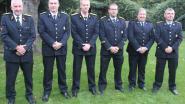 """Vriendenkring viert zes brandweermannen met 25 jaar dienst: """"Samen goed voor 150 jaar ervaring"""""""