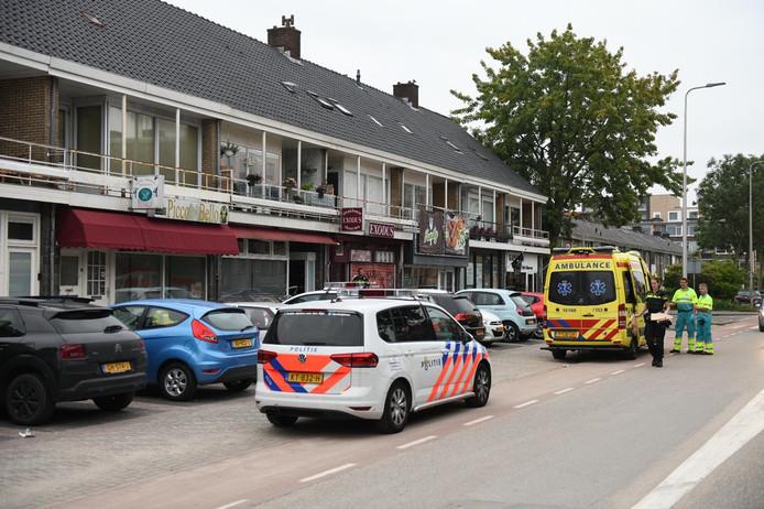 De Lijsterlaan in Alphen, waar vanochtend een steekpartij plaatsvond in de relationele sfeer.