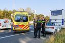 Man overleden op A2 bij Waalre, stapte uit touringcar en werd geschept door auto