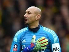 Afscheid met succes en tranen voor Heurelho Gomes bij Watford