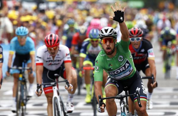 Zonder topsprinters is Peter Sagan al voor de derde keer deze Tour de beste