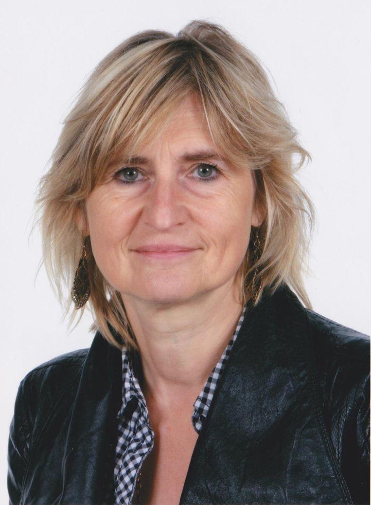 Marianne Weyn, echtgenote van Wally De Doncker.