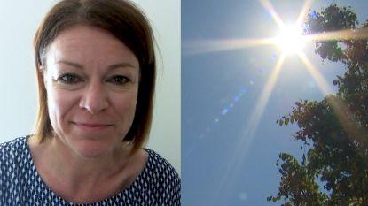 """Weervrouw Jill Peeters: """"Vandaag tot 31 graden"""""""