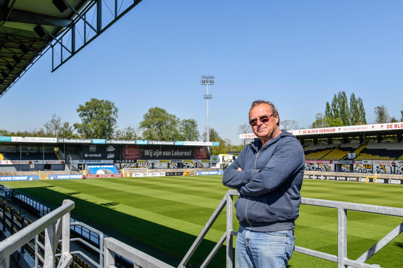 Jean-Paul Van De Velde hoopt dat hij ook in toekomst nog voetbal zal zien in het Daknamstadion.