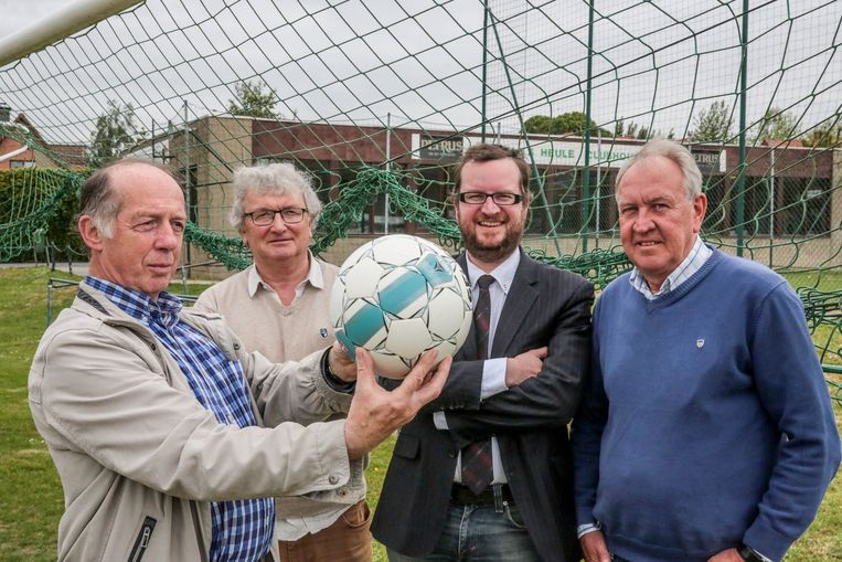 Alex Vanhee, Rudy Soete, Pieter Soens en Rik Doop van Noordstar Heule.