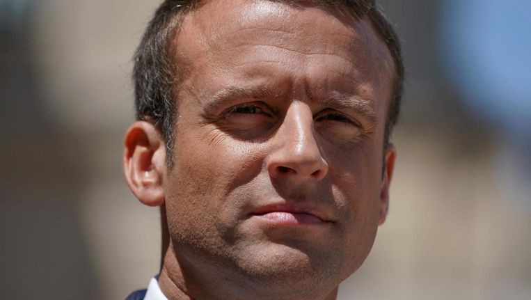 Emmanuel Macron. Beeld anp