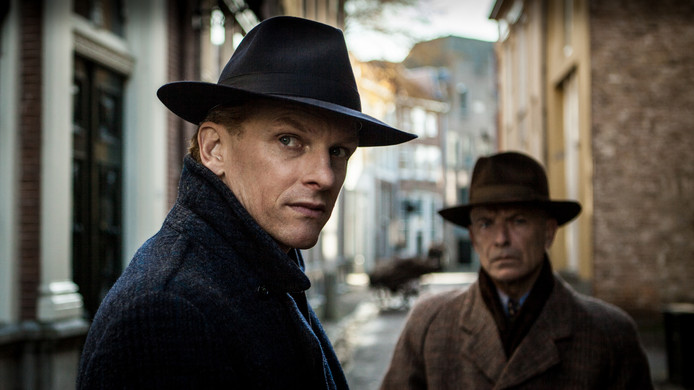 Still uit de film Bankier van het Verzet, die focust op bankier Wallraven van Hall, die vroeger bankdirecteur was in Zutphen.