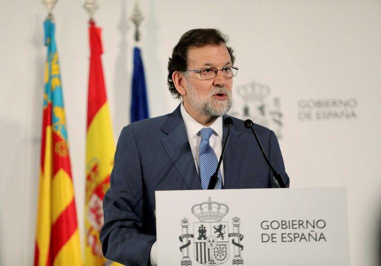 Spaans premier Mariano Rajoy.