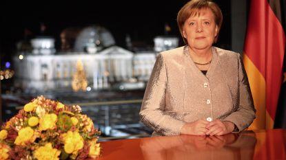 """Merkel: """"Duitsland moet meer verantwoordelijkheid opnemen in de wereld"""""""