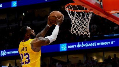 VIDEO. LeBron James ontbindt zijn duivels tegen Chicago Bulls